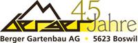 Logo 45 Jahre Berger Gartenbau Boswil