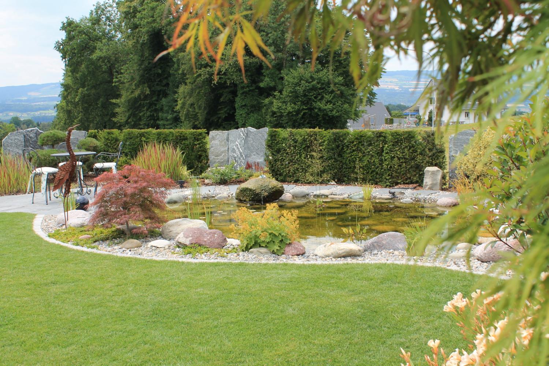Teichpflege Berger Gartenbau
